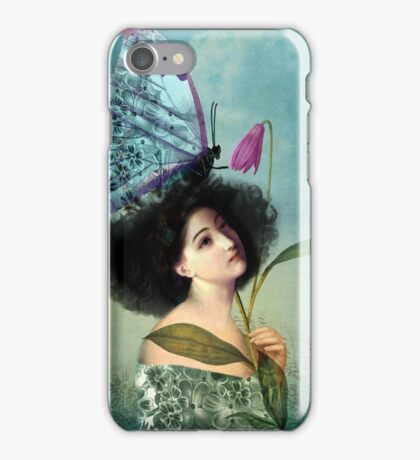 In the Butterfly Garden iPhone Case/Skin