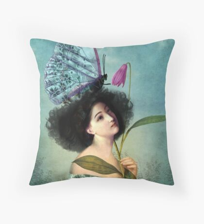 In the Butterfly Garden Throw Pillow