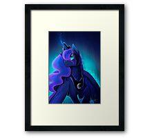 I can shine too -Princess Luna Framed Print