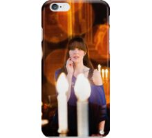 A day out in Greenwich - through the candles iPhone Case/Skin