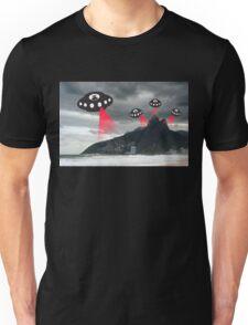 Alien invasion, Rio de Janiero Unisex T-Shirt