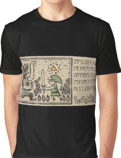 Zelda - The Wind Waker - Introduction 3 of 6 Graphic T-Shirt
