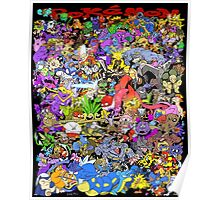 151 POKEMON Poster