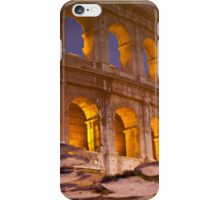 Colosseum reflection iPhone Case/Skin