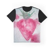 aquarelle strawberry Graphic T-Shirt
