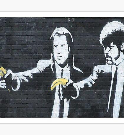 Banksy Pulp Fiction Sticker