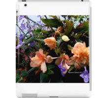 flowers in the spring iPad Case/Skin