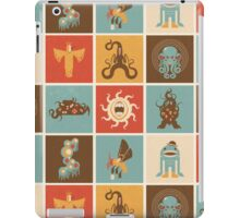 The Lovecraftian Squares iPad Case/Skin