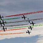 The Frecce Tricolori II by SunDwn