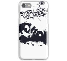 bbc sherlock iPhone Case/Skin