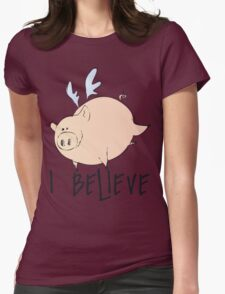 I Believe Pigs Can Fly T Shirt T-Shirt