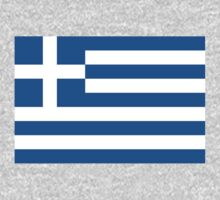 Greece Flag by cadellin