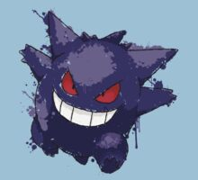 Gengar Splatter Kids Clothes