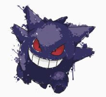 Gengar Splatter by Keelin  Small