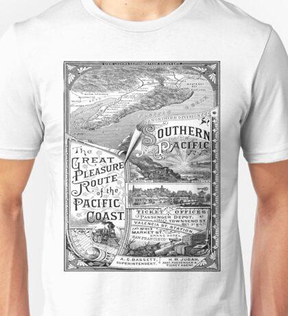 Vintage poster - Pacific Coast Unisex T-Shirt