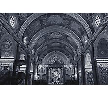 St. John Cathedral Malta Photographic Print