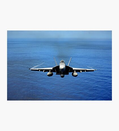 F/A-18E Super Hornet from the Tophatters of Strike Fighter Squadron (VFA) 14  Photographic Print