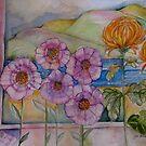 FLOWERS AT MY WINDOW by Gea Austen