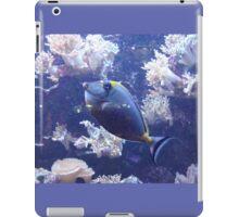 Fish Purple Blue iPad Case/Skin