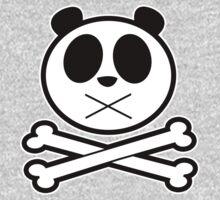 Panda Cross Bone 2 Kids Clothes