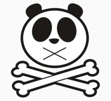 Panda Cross Bone 2 Kids Clothes
