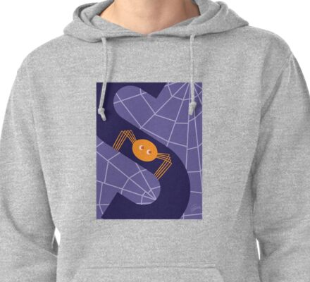 S is for Spider Pullover Hoodie