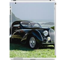 1938 Talbot Lago T150 C Speciale Tear Drop Coupe II iPad Case/Skin