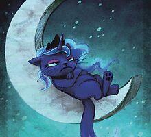 Luna The Grumpy Cat by Eleanor Bick