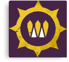 Destiny Queens Wrath Emblem Canvas Print