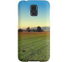 Autumn afternoon in the countryside | landscape photography Samsung Galaxy Case/Skin