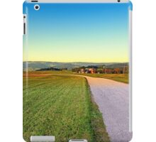 Autumn afternoon in the countryside | landscape photography iPad Case/Skin