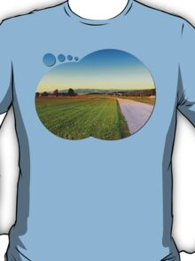 Autumn afternoon in the countryside | landscape photography T-Shirt