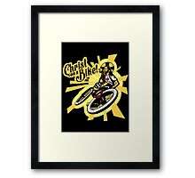 Christ on a Bike Framed Print