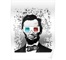 Abraham Lincoln - 3D (2) Poster