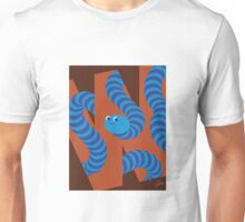 W is for Worm Unisex T-Shirt