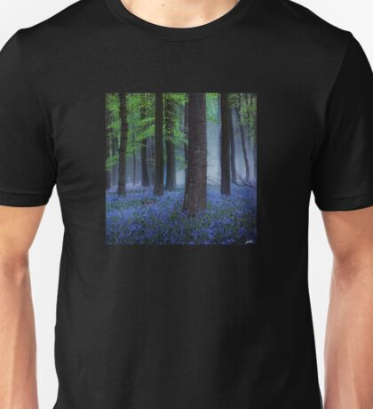 Misty Blue Unisex T-Shirt