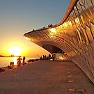 sunset by the river by terezadelpilar ~ art & architecture