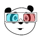Panda - 3D Glasses by Adamzworld
