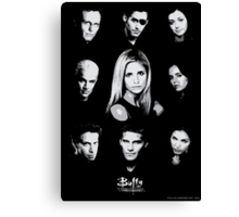 Buffy Cast Canvas Print