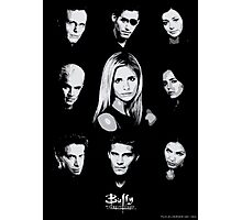 Buffy Cast Photographic Print