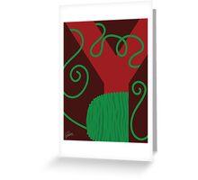 Y is for Yarn Greeting Card