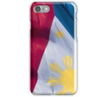 Waving Flag of the Philippines From 2014 Winter Olympics iPhone Case/Skin