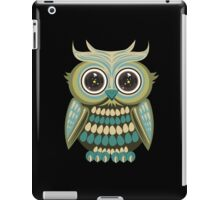 Star Eye Owl - Green 3 iPad Case/Skin