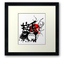 Japan Spirits Framed Print