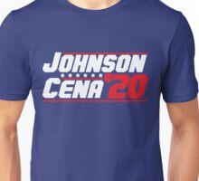 2020 Presidential Candidates Dwayne Johnson John Cena Unisex T-Shirt