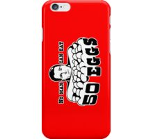 Cool Hand Luke: No man can eat 50 eggs iPhone Case/Skin