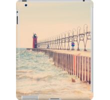 Lake Michigan Lighthouse iPad Case/Skin