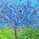 pink and purple tree by -KAT-