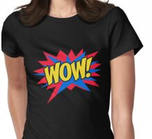 WOW Womens Fitted T-Shirt