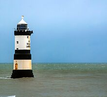Penmon lighthouse by Anna Phillips